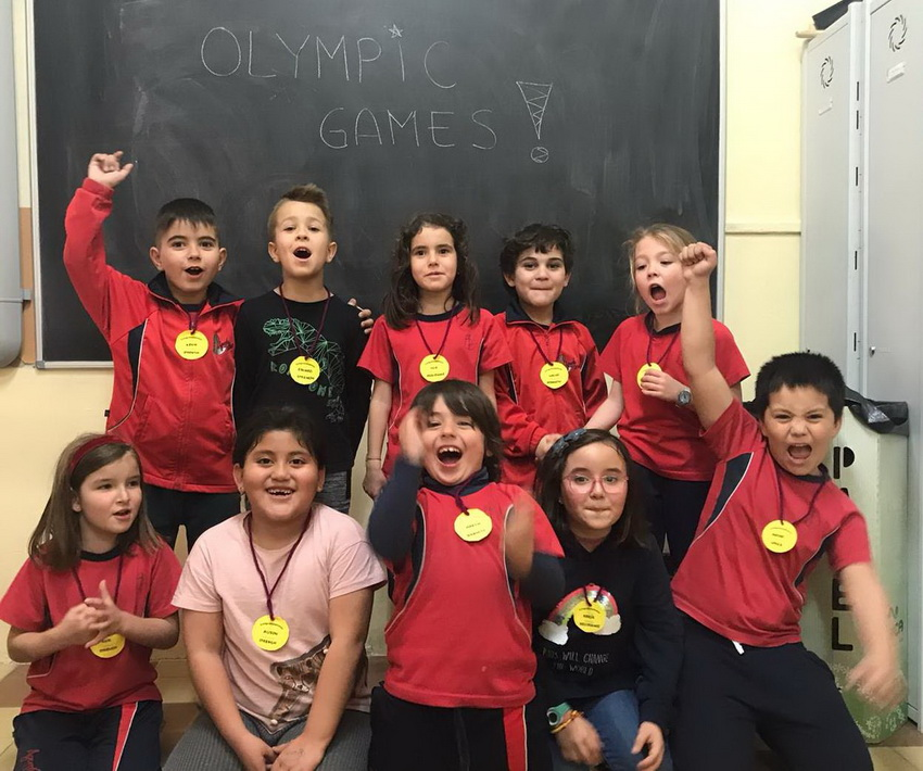 Primaria. Olympic Games